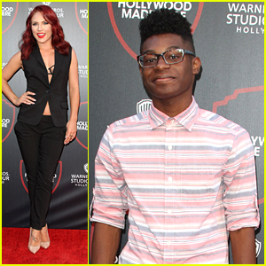Sharna Burgess & K.C. Undercover's Kamil McFadden Check Out Warner Bros' 'Stage 48: Script To Screen' Expansion
