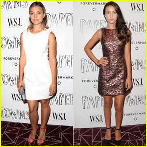 Emma Fuhrmann & Spencer Grammer Are Pretty 'Paper Towns' Ladies!