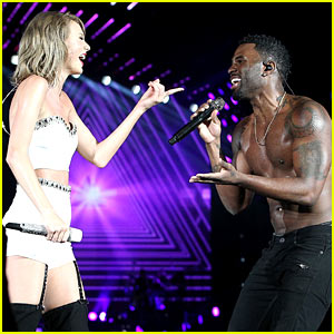 Taylor Swift Performs 'Want to Want Me' with Jason Derulo - Watch Now!