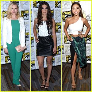 Eliza Taylor, Bob Morley & 'The 100' Stars Dish On Season Three At Comic-Con Panel