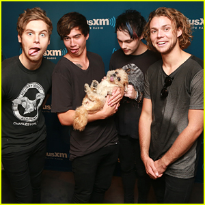 5 Seconds Of Summer Chill With Marnie The Dog At SiriusXM