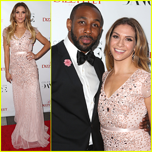 Allison Holker & Stephen 'tWitch' Boss Dazzle At Dizzy Feet Gala 2015