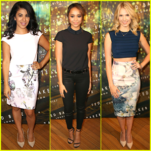 Chrissie Fit & Amber Stevens West Check Out Ted Baker London's New Autumn/Winter Collection