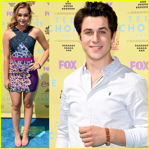 Brec Bassinger & David Henrie Step Out for Teen Choice Awards 2015