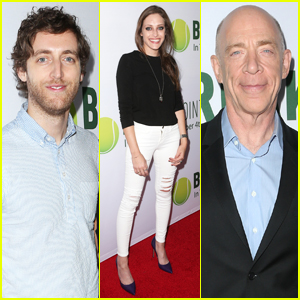 Carly Chaikin & Thomas Middleditch Step Out for 'Break Point' Hollywood Screening!