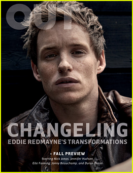 Eddie Redmayne Covers 'Out' Magazine September 2015