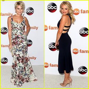 Emily Osment & Chelsea Kane Go Glamorous For ABC's TCA Tour Party