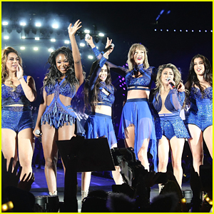 Taylor Swift Becomes 'Twinzies' With Fifth Harmony For Santa Clara 1989 Concert - See Pics & Video!