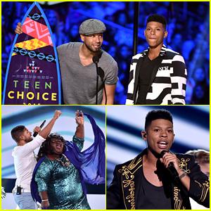 Jussie Smollett & Bryshere Gray's 'Empire' Teen Choice Awards 2015 Performance - Watch Now!