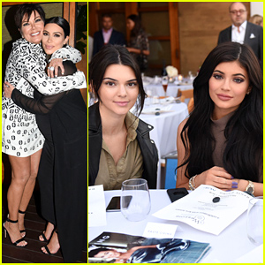 Kendall & Kylie Jenner Celebrate Their Mom's 'Haute Living' Cover!