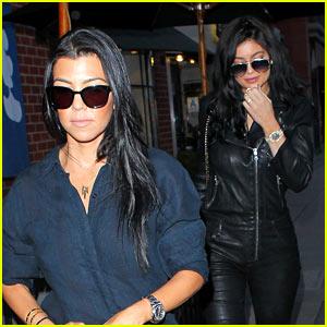 Kylie Jenner Grabs Greek Yogurt With Sis Kourtney Kardashian