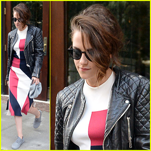 Kristen Stewart Steps Out for Promo Work in NYC