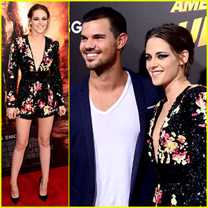 Kristen Stewart Gets Taylor Lautner's Support at 'Ultra' Premiere!