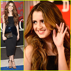 Laura Marano Flirts With The Cameras At MTV VMAs 2015