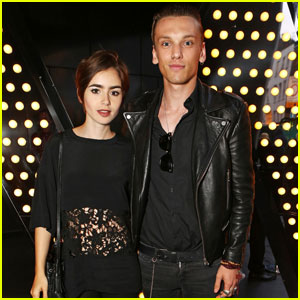Jamie Campbell Bower Takes Time Off to Spend With Girlfriend Lily Collins