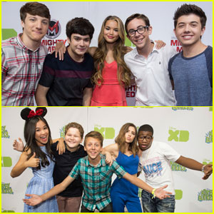 Paris Berelc Shows Off Lighter Hair at D23!