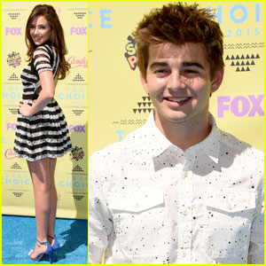 Jack Griffo & Ryan Newman Hit Up Teen Choice Awards 2015!