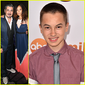 Hayden Byerly & Sherri Saum Celebrate 'The Fosters' Win At TCA Tour Awards