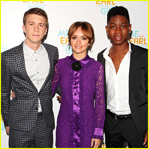 Thomas Mann & Olivia Cooke Bring 'Me & Earl' to London