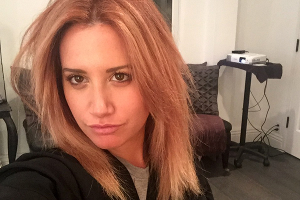 Ashley Tisdale Blogs About Hair Color Change On The Haute Mess  Ashley Tisda