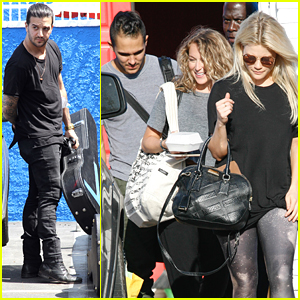 Alexa & Carlos PenaVega Hit The Dance Studio Again After Dinner With Alfonso Ribeiro