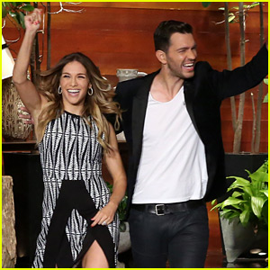 DWTS' Andy Grammer & Allison Holker Perform on 'Ellen' - Watch Now!