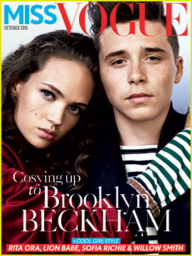 Brooklyn Beckham Looks So Handsome for 'Miss Vogue'