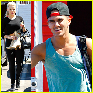 Carlos PenaVega Thinks He Has The Most Fun In 'DWTS' Rehearsals With Witney Carson