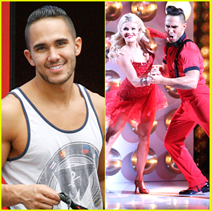 Witney Carson Takes JJJ Inside Practice With Carlos PenaVega & DWTS Pros After Premiere Night