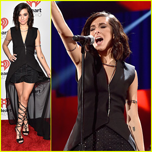 Christina Grimmie Opened Up The iHeartRadio Music Festival In Vegas & Slayed It!