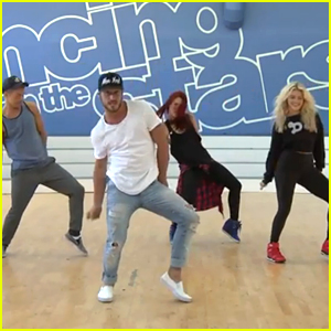 Val Chmerkovskiy, Derek Hough, Sharna Burgess & Witney Carson Want You In 'DWTS' Season 21's Flash Mob!