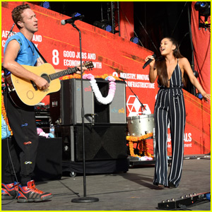 Ariana Performs a Duet of