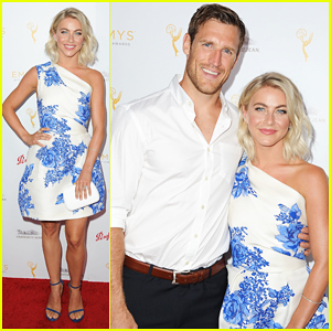 Julianne Hough & Fiance Brooks Laich Couple Up at Pre-Emmys Bash!