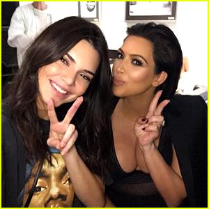 Kendall Jenner Joins Kardashian Sisters at Kanye West Concert
