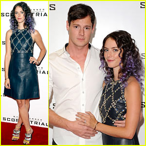 Kaya Scodelario Now Has Purple Hair!