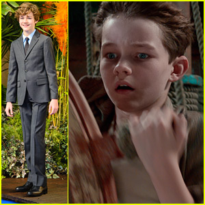 Levi Miller Takes The Ship's Wheel In New 'Pan' Pics!