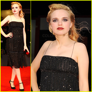 Odessa Young Attends 'Equals' Premiere in Venice With Miranda Otto