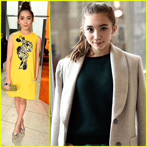 Rowan Blanchard Takes Over London During Fashion Week 2015