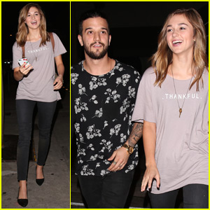 Sadie Robertson Reunites With 'DWTS' Partner Mark Ballas at Dinner!