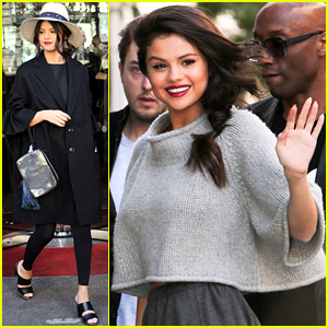 Selena Gomez Continues to Promote 'Revival' in Paris