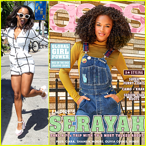 Serayah Opens Up About Meeting Ta