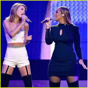 Taylor Swift Belts Out 'Bleeding Love' With Leona Lewis - Watch Now!