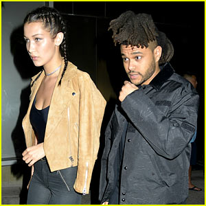 Bella Hadid Goes on Date Night with Boyfriend The Weeknd!