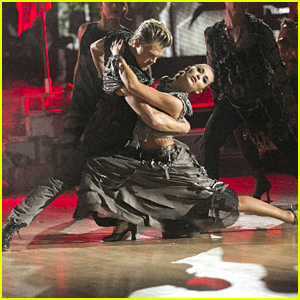 Alexa PenaVega Gets Red Roses After Perfect Score With Derek Hough on DWTS