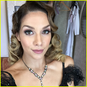 Allison Holker Gushes Over 'Singing in the Rain' Routine for 'DWTS' - Read Her Week Six Blog!