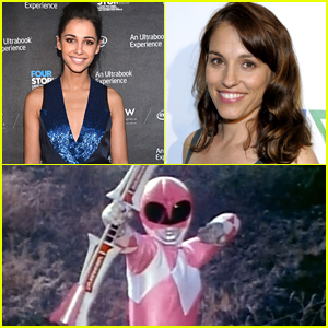 Original Pink Ranger Amy Jo Johnson Gives Stamp Of Approval To Naomi Scott's Casting
