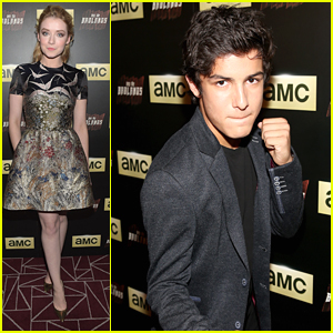 Aramis Knight Goes 'Into The Badlands' With Sarah Bolger At Screening Party
