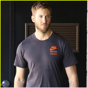 Calvin Harris Hits the Gym as Taylor Swift Tours the World