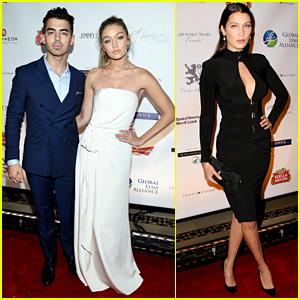 Joe Jonas Walks First Red Carpet with Girlfriend Gigi Hadid!