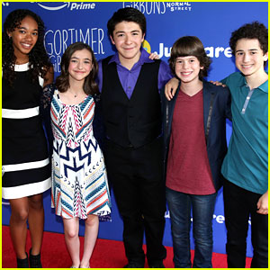Sloane Siegel & 'Gortimer' Cast Premieres Season 2 at Just Jared Jr.'s Fall Fun Day!